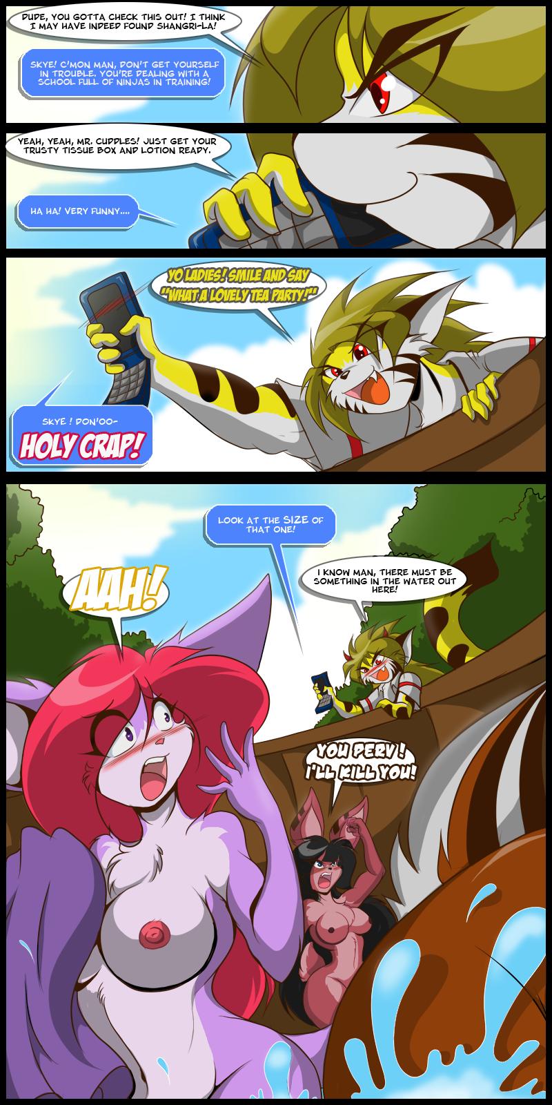Goyoku Page3: Tea Party!